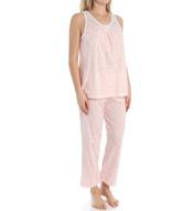 Carole Hochman Fern Capri Pajama Set 189962