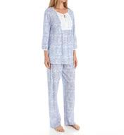 Carole Hochman Garden Pajama Set 189970G