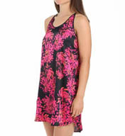 Carole Hochman Midnight Enchanted Petals Chemise 132771