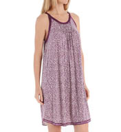 Carole Hochman Midnight Playful Hearts Chemise 132900