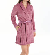 Carole Hochman Midnight Sweet Memories Floral Imprinted Robe 134660p