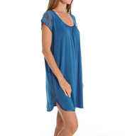 Carole Hochman Midnight Chantilly Sleepshirt 1361003