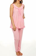 Carole Hochman Midnight The Charm of You PJ Set 139561