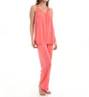 Carole Hochman Midnight Braided PJ Set 139753