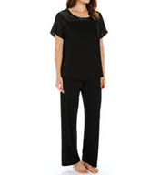 Carole Hochman Midnight Dove Opulence Pajama Set 139760