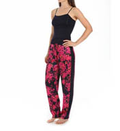 Carole Hochman Midnight Enchanted Petals Pajama Set 139771