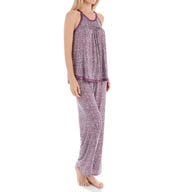 Carole Hochman Midnight Playful Hearts Pajama Set 139900