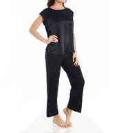 Carole Hochman Midnight Simple Slumber Pajama Set 139901