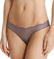 Catherine Malandrino Cross Dyed Lace Tanga Panty C5413