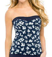 Christina Hamptons Bouquet Bandeau Tankini Swim Top HB1085