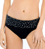 Christina Semi-High Waist Fold Over Swim Bottom SI3045