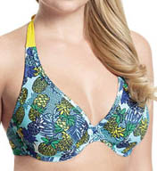 Cleo by Panache Carmen Non Padded Plunge Swim Top CW0114