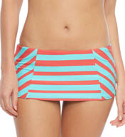 Coco Rave We Love Stripes Princess Seam Skirted Swim Bottom R13355