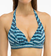 Coco Reef Wonderland Geo Halter Bra Swim Top U59656