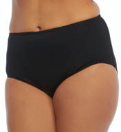 Coco Reef Solid High Waist Swim Bottom Plus Size UX5651