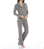 Cosabella Bella Long Sleeve Top with Pant PJ Set AM9641