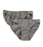 Cottonique Organic Cotton Bikini Brief Panty - 2 Pack W22206