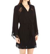 Crystal Hefner Loungewear Lace Luxury Robe 7024
