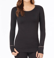 Cuddl Duds Smooth Plush Long Sleeve Scoop 8312417