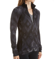 Cuddl Duds Fleecewear with Stretch Long Sleeve Zip-Up 8317565