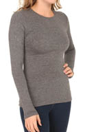 Cuddl Duds Softwear with Stretch Long Sleeve Crew Neck 8412316