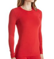 Cuddl Duds Softwear with Stretch Long Sleeve Crew Neck Shirt 8417516