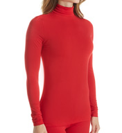 Cuddl Duds Softwear with Stretch Long Sleeve Turtleneck 8717516