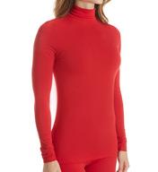 Cuddl Duds Softwear with Stretch Long Sleeve Turtleneck 8717516