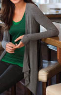 Cuddl Duds Second Layer Wrap Up 3 Way Wear 8812316