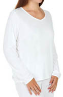 Cuddl Duds Climatesmart Long Sleeve V Neck Plus Size 9512241