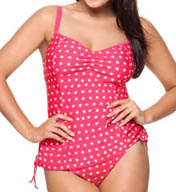 Curvy Kate Seashell Tankini Swim Top CS1306