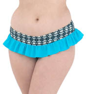 Curvy Kate Cocoloco Skirted Brief Swim Bottom CS2335