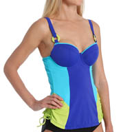 Curvy Kate Ocean Drive Padded Balconette Tankini Swim Top CS2416