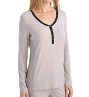 DKNY Chrystie Street Long Sleeve Top 2013371