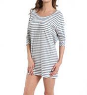 DKNY Layering Mixers Crop Sleeve Sleepshirt 2313217