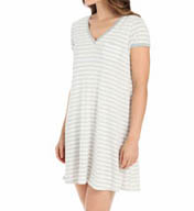 DKNY Lazy Afternoon Cap Sleeve Sleepshirt 2313256