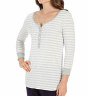 DKNY Lazy Afternoon 3/4 Sleeve Top 2413256