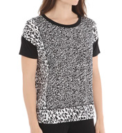 DKNY Wave Short Sleeve Top 2413302