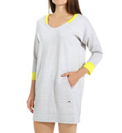 DKNY Wave 3/4 Sleeve Sleepshirt 2613303