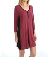 DKNY Chrystie Street 3/4 Sleeve Sleepshirt 2613371