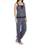 DKNY Playful Prints Tank & Pant PJ Set 2913306