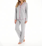 DKNY Goodnight Long Sleeve Jersey PJ Set 3013276