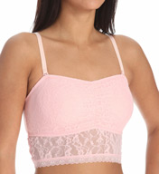 DKNY Signature Lace Bandeau Crop Top 735238