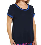 DKNY Royal Plus Size Short Sleeve Tee 9413307