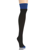 DKNY Hosiery Colorblock Knit Over The Knee Tight 0B869