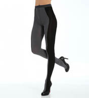 DKNY Hosiery Contour Colorblock Tight 0B901