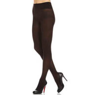 DKNY Hosiery Opaque Coverage Same To Waist Tights 472NB