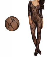 Dreamgirl Bow Body Stocking 0019