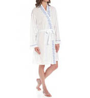 Eileen West Meadow Short Wrap Robe 5114595