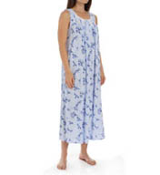 Eileen West Vine Ballet Sleeveless Nightgown 5115825